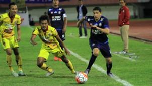 Esteban Vizcarra - Arema FC & Gilang Ginarsa - Sriwijaya FC