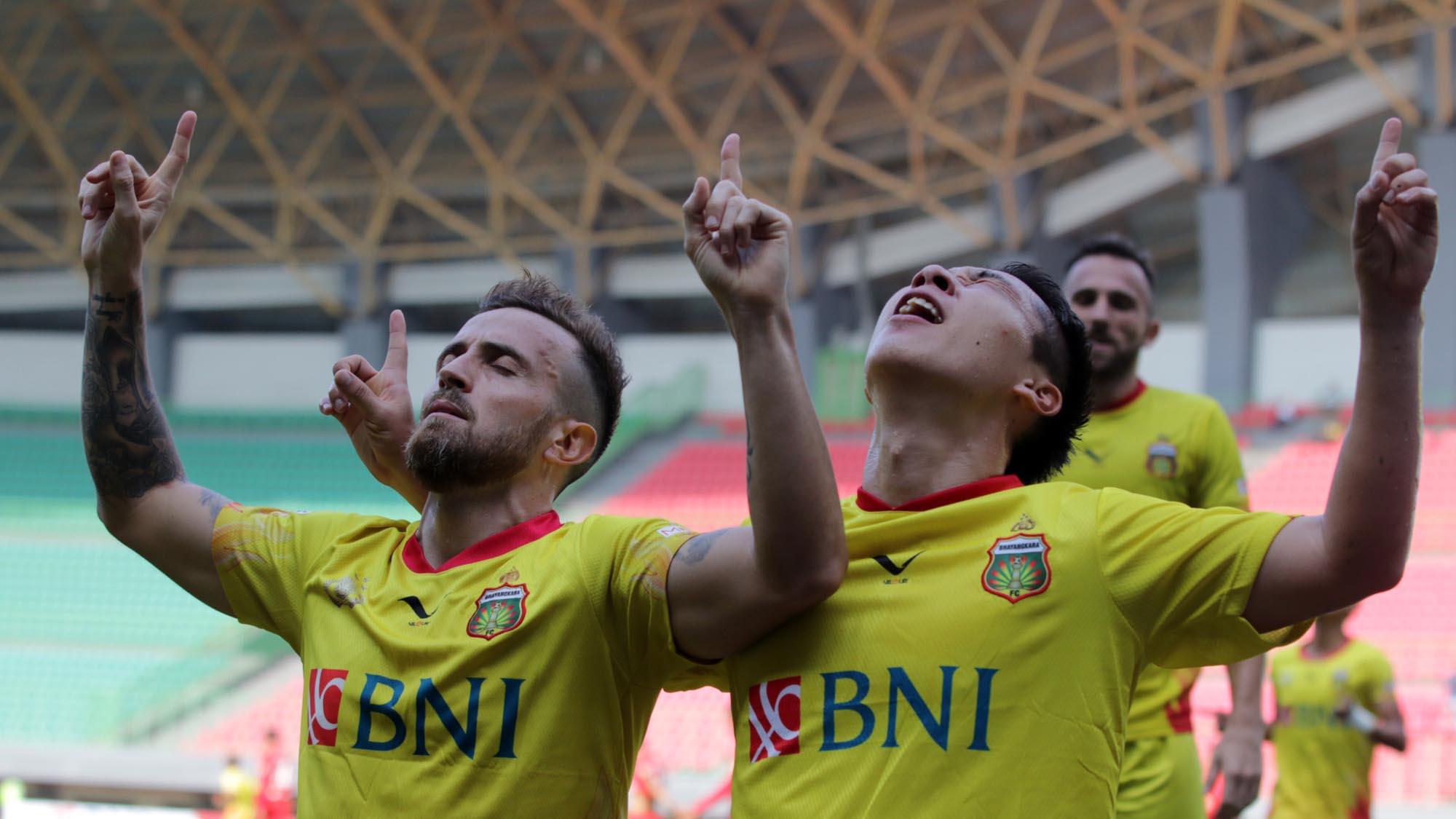 Paulo Sergio - Selebrasi Bhayangkara FC