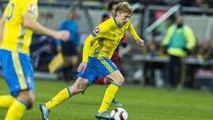 Emil Forsberg   Sweden vs Denmark   Euro 2016 Play-off   17112015