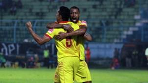 Hilton Moreira & Alberto Goncalves - Sriwijaya FC