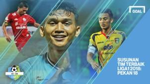 Liga 1 - Pekan 18