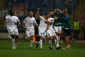 Unirea Urziceni Champions League 2009/10