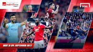 IndiHome - Best XI EPL - September