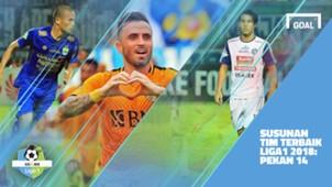 Liga 1 - Pekan 14