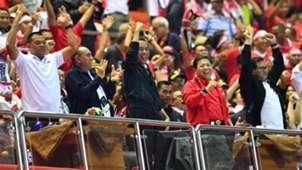 Presiden Indonesia Joko Widodo - Indonesia vs Vietnam AFF Suzuki Cup 2016
