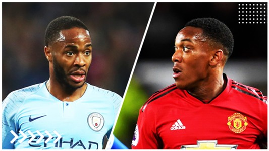 Sterling   Manchester City - Martial   Manchester United