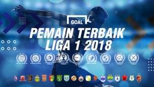 Terbaik Liga 1 2018 Cover