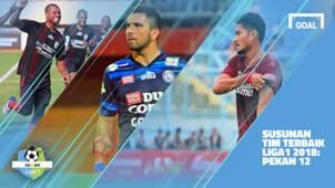 Liga 1 - Pekan 12