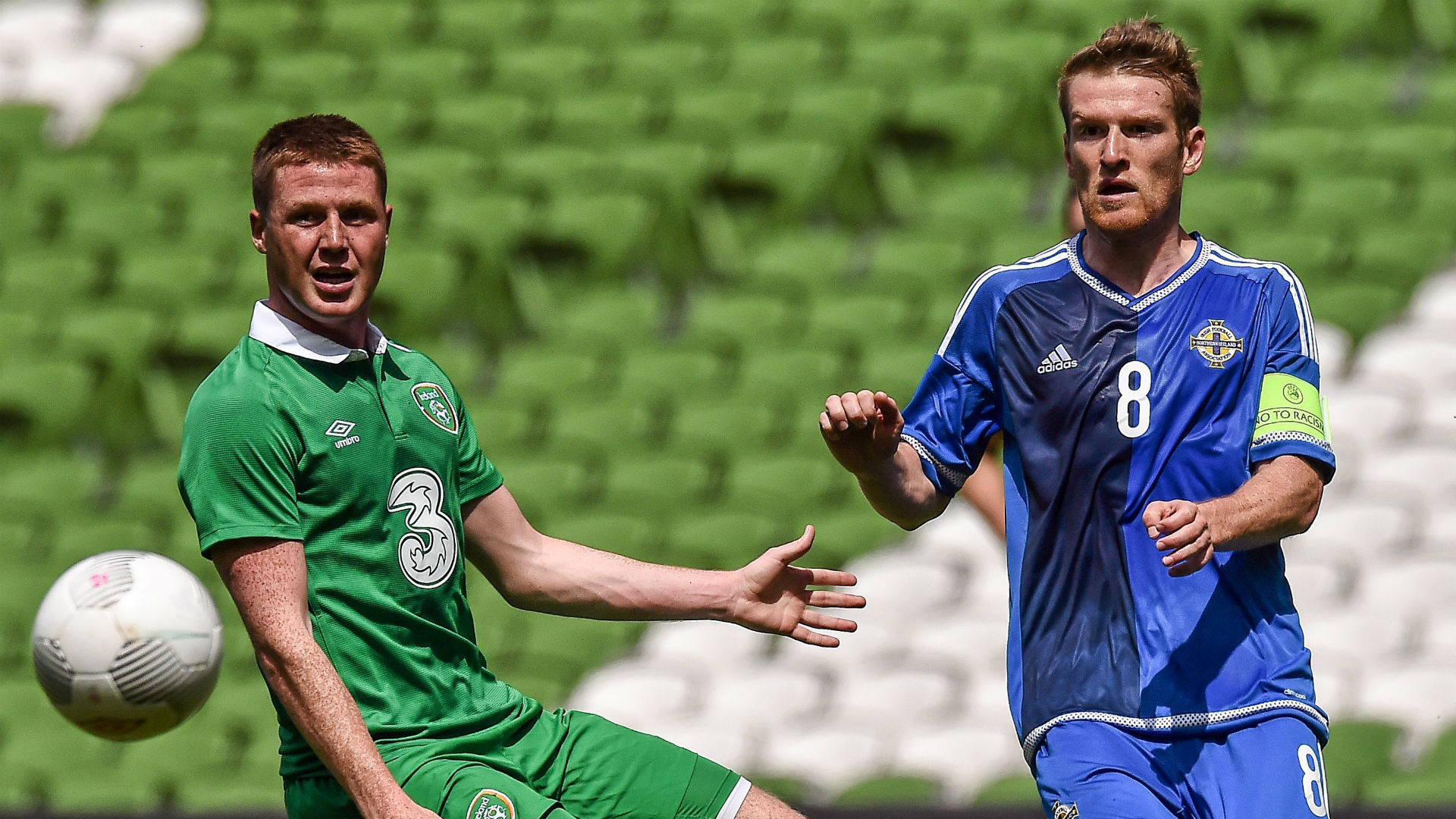 James McCarthy Republic of Ireland Steven Davis Northern Ireland 04062015
