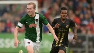 Stephen Dooley Nasiru Mohammed Cork City BK Hacken 21072016