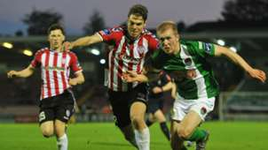 Niclas Vemmelund Stephen Dooley Derry City Cork City 13052016