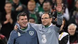Roy Keane Martin O'Neill Republic of Ireland