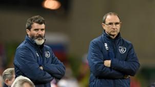 Roy Keane Martin O'Neill Republic of Ireland