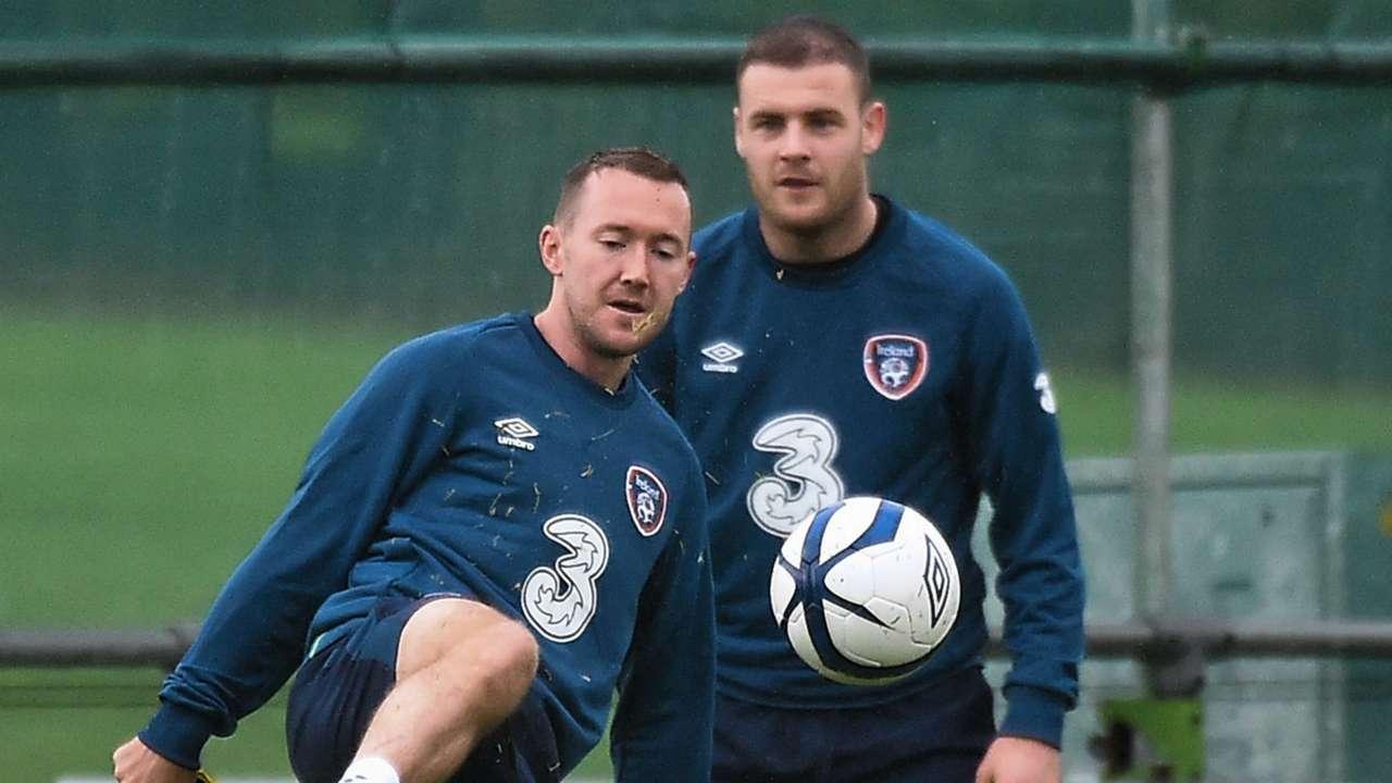 Aiden McGeady Anthony Stokes Republic of Ireland 1112014