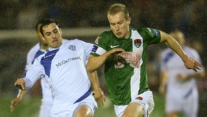 Stephen Dooley Mark Hughes Cork City Finn Harps 14102016