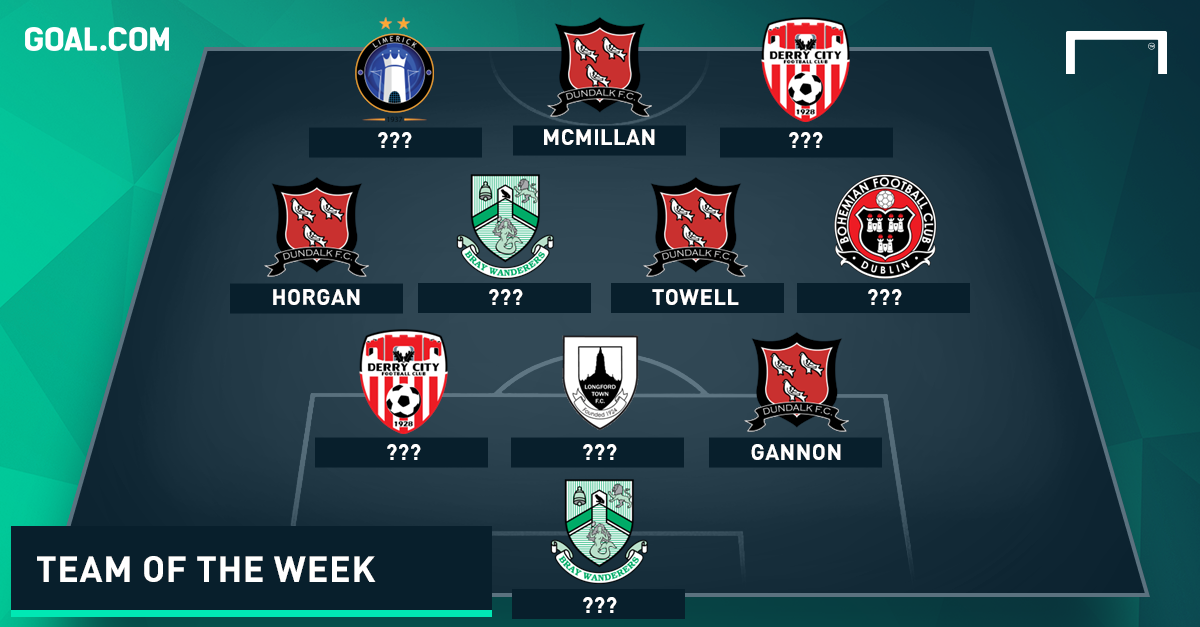 GFX PS League of Ireland Team of the Week 21092015