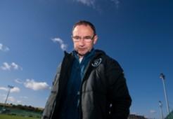 Martin O'Neill Republic of Ireland training 20141007