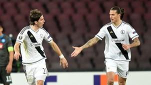 Stojan Vranjes Aleksandar Prijovic Legia Warsaw 10122015