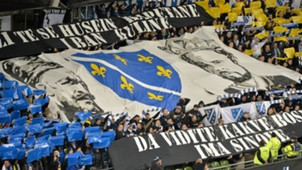 Bosnia fans Dublin Ireland 161115