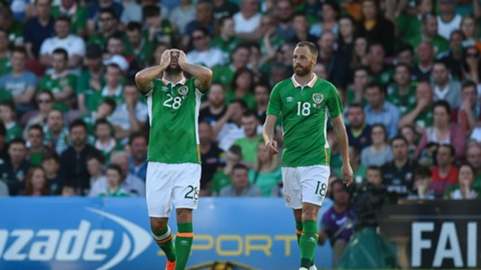 Darron Gibson David Meyler Republic of Ireland 31052016