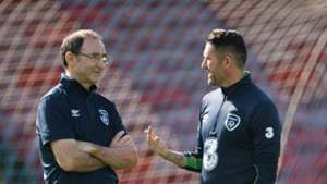 Martin O'Neill Robbie Keane Republic of Ireland 30052016