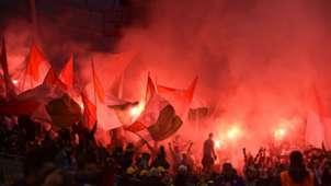 Legia Warsaw fans Aviva Stadium 17082016