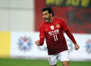Ricardo Goulart of Guangzhou Evergrande