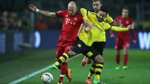 Arjen Robben Ilkay Gundogan Borussia Dortmund v FC Bayern Muenchen - Bundesliga 03052016