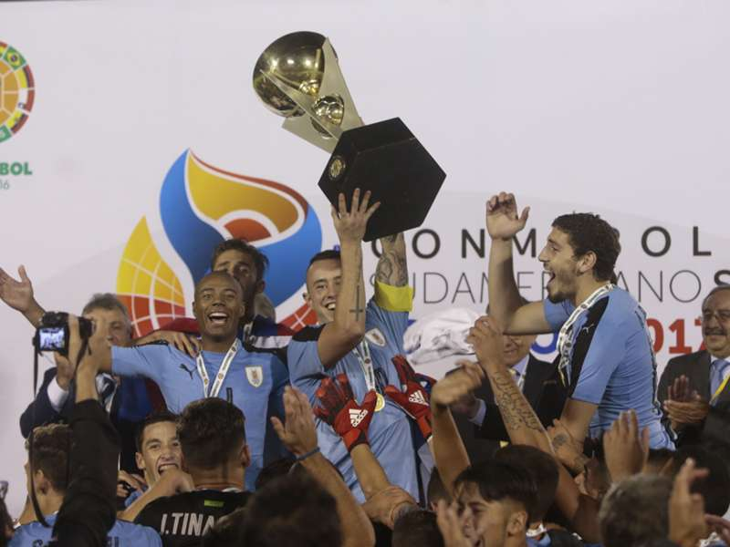 U-20南米王者はウルグアイに決...
