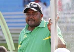 Mathare United coach Francis Kimanzi