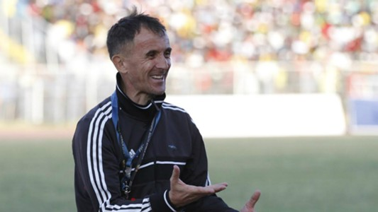 Uganda coach Micho Sredojevic in past action