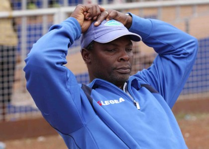 Thika United coach James Nandwa v Western Stima
