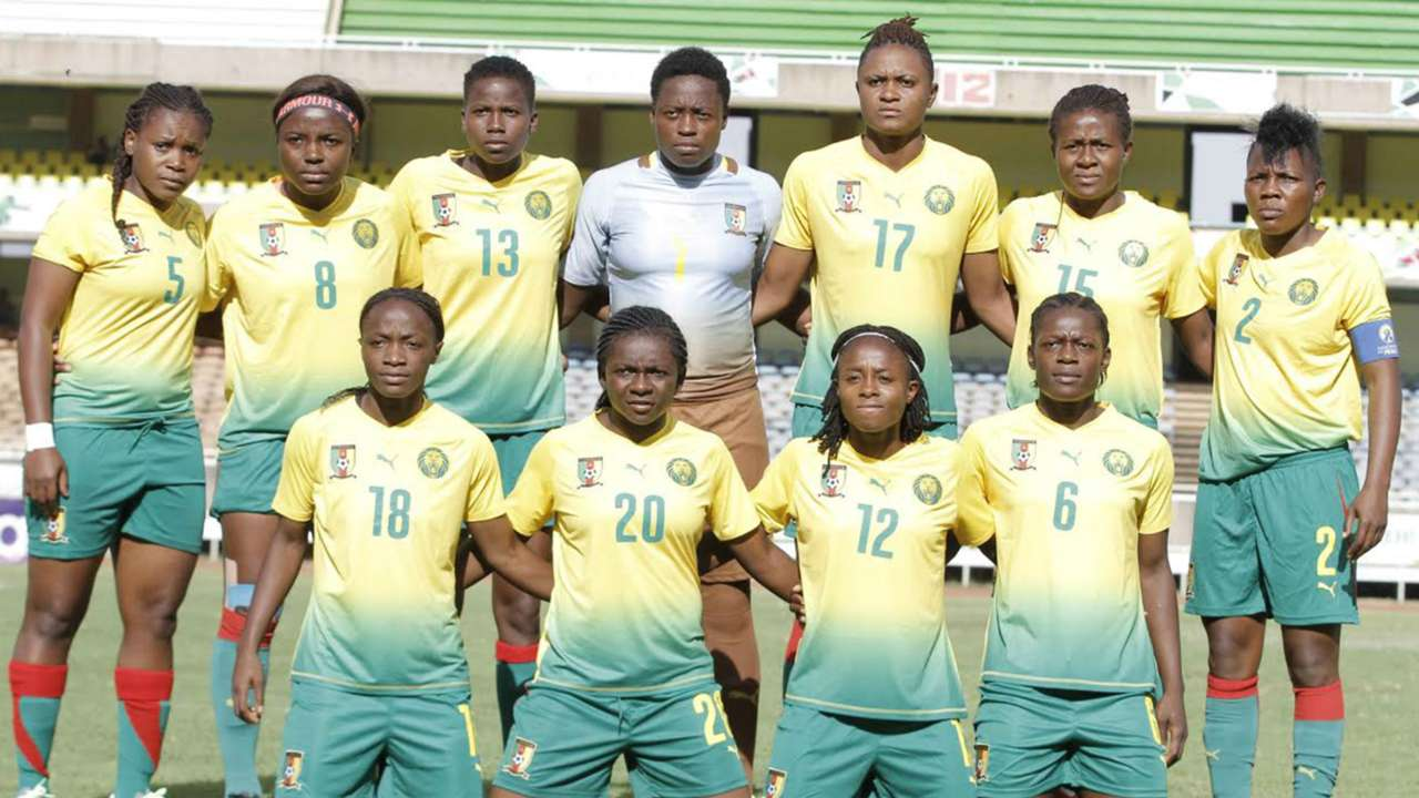 Cameroon also paraded a strong side as they took on Harambee Starlets at Kasarani