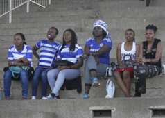 AFC Leopards fans during their GOtv Shield match at City Stadium