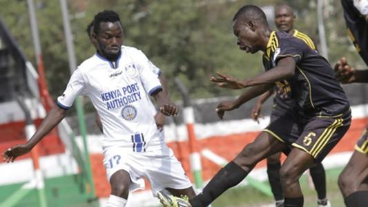 Bandari midfielder Anthony Kimani