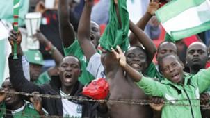 Gor Mahia fans at Nyayo Stadium