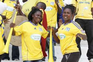 Muhoroni Youth fans in a past Kenyan Premier League match