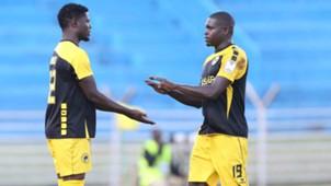 Tusker coach Paul Nkata introduced striker Allan Wanga for Michael Khamati