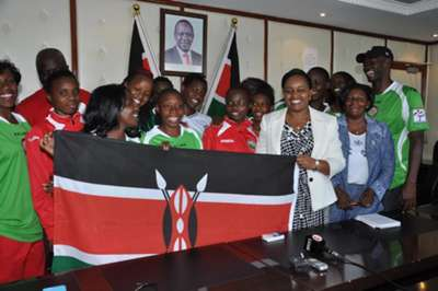 Harambee Starlets, has got a major boost from the government following their triumph over Botswana