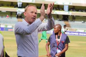 Frank Nuttall final moments was a 1-0 defeat to rivals AFC Leopards in 'Mashemeji derby' on Sunday