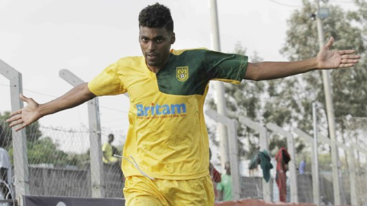 Mathare United goal scorer Abdamah Ahmed