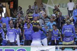Tanzania fans rally behind their team in the friendly played at Kasarani Stadium