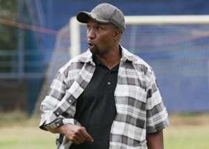 Ushuru FC coach Ken Kenyatta v Western Stima