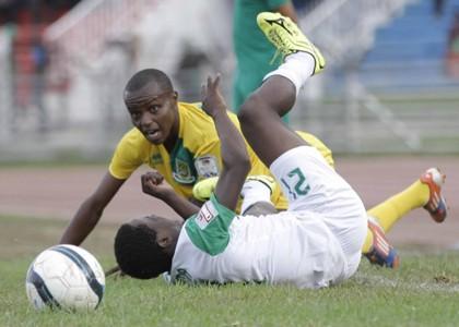 Gor Mahia v Mathare United at Nyayo Stadium