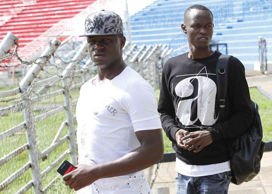 Southampton star Victor Wanyama reported to Harambee Stars' training on Tuesday as they stepped up preps to face Cape Verde in a World Cup qualifier