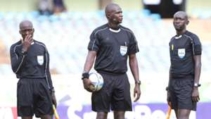 Kenyan referees were in charge of the friendly led by Andrew Juma