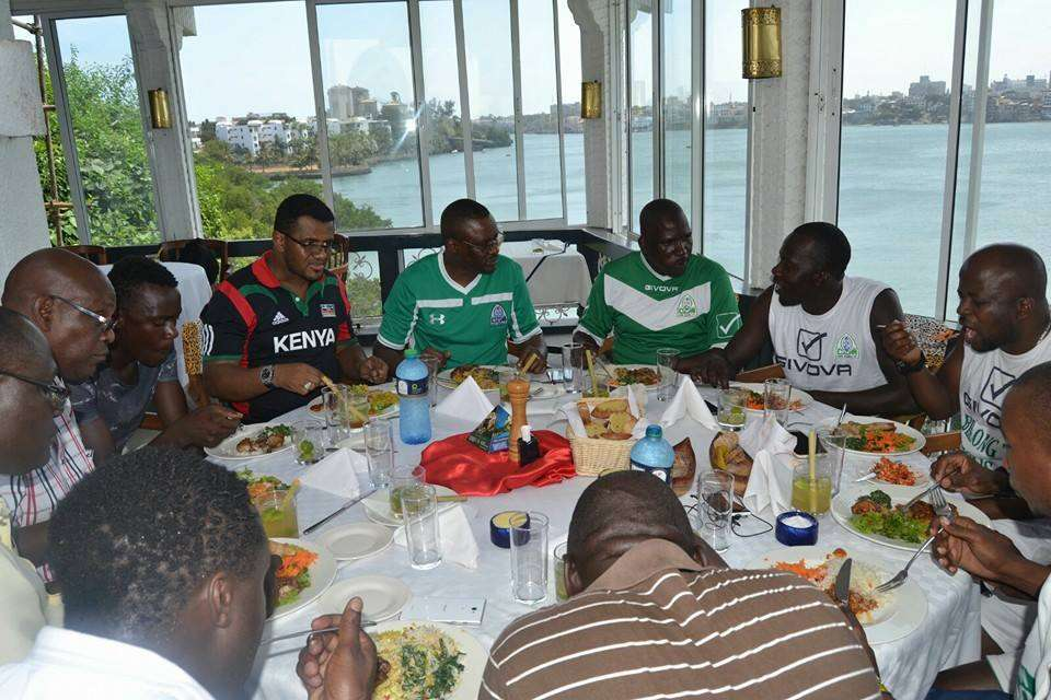 Gor Mahia players were on Friday treated to a luncheon at Tamarind Mombasa courtesy of Eliud Owalo