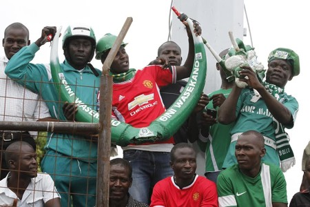 Gor Mahia fans turned out in large numbers at Kisumu Stadium to watch the side maintain unbeaten run