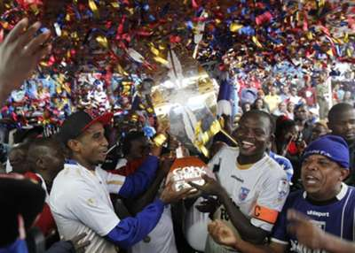 Bandari were crowned GOtv Shield champions after downing Nakumatt FC at Nyayo Stadium on Sunday