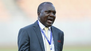 Sam Ssimbwa the KCCA FC coach reacts against Azam FC